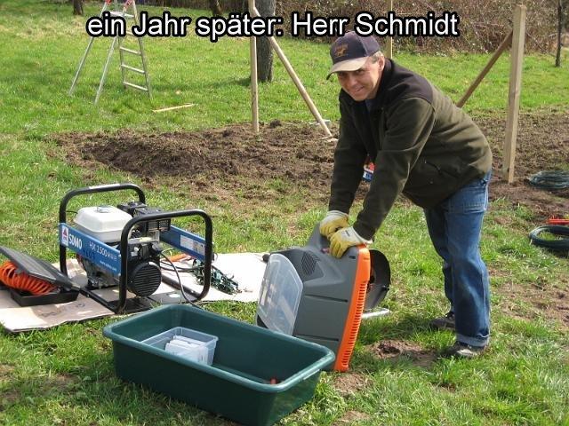 ein Jahr spaeter... ...Herr Schmidt